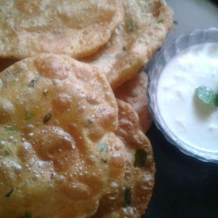 Photo of Methi btata puri by Anita Bhawari at BetterButter