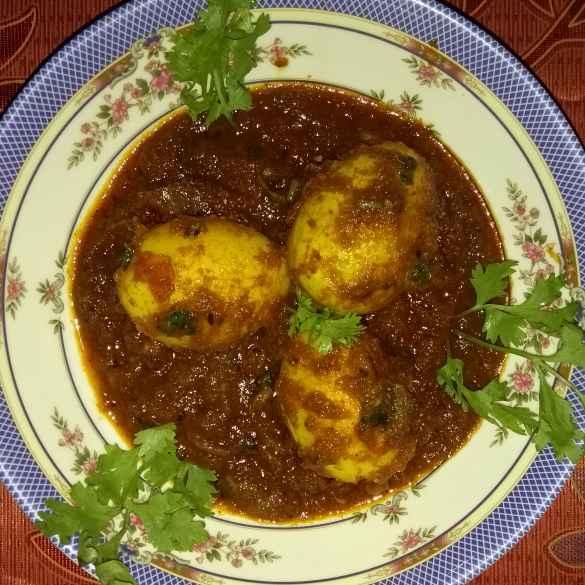 Photo of duck egg dopeyaja by Anita Nandi at BetterButter