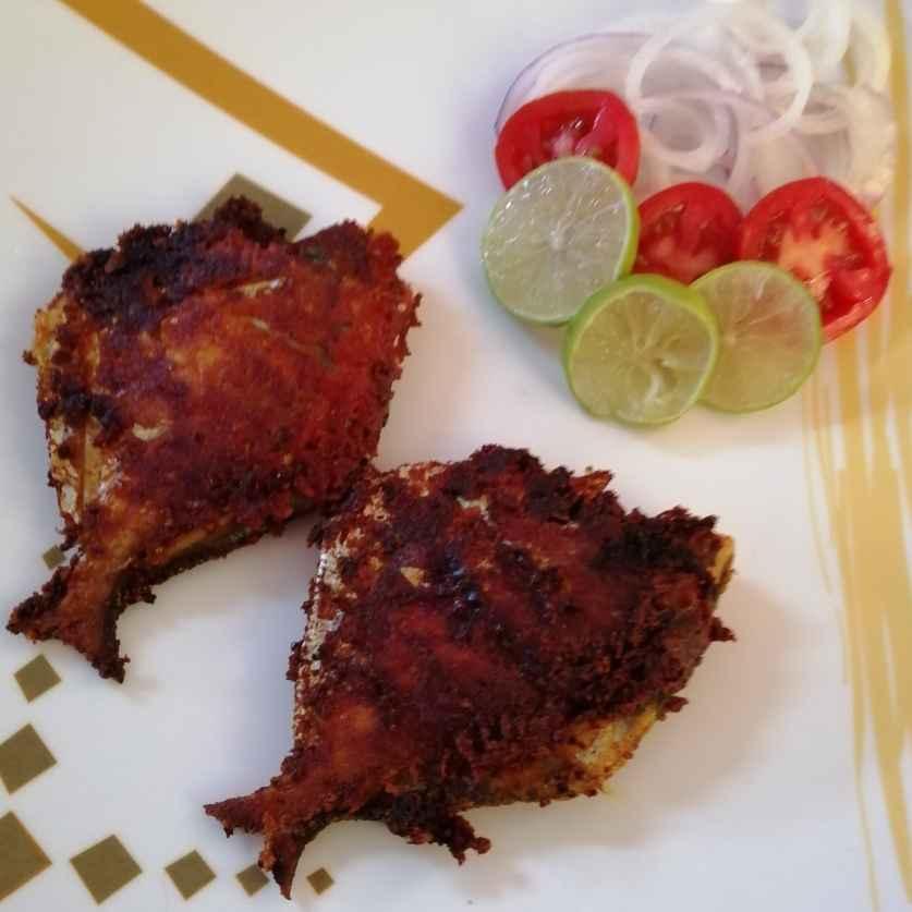 Photo of Fried pomfret by Anita Sarkar at BetterButter