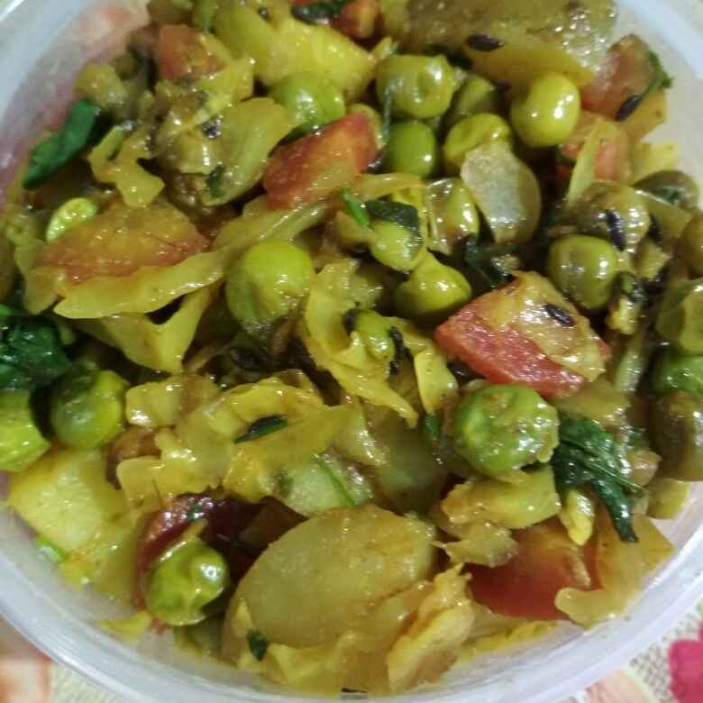 Photo of Mix vegetable by anita uttam patel at BetterButter