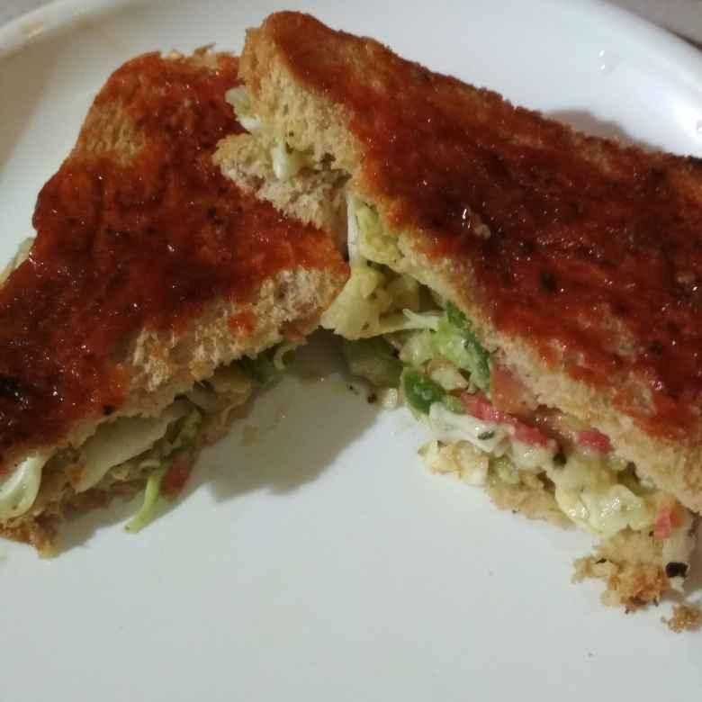 Photo of Schezwan sandvich by anita uttam patel at BetterButter