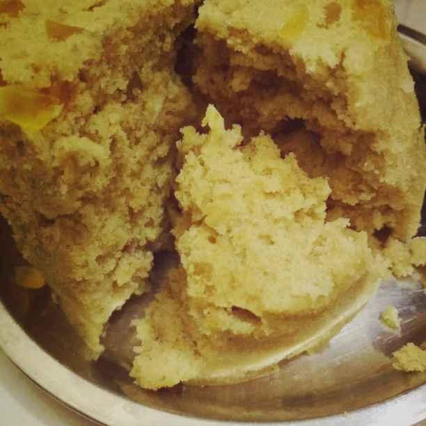 How to make कस्टर्ड केक