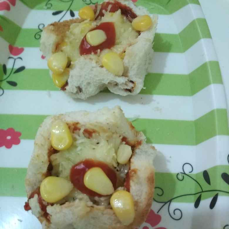 How to make Bread cup pizza