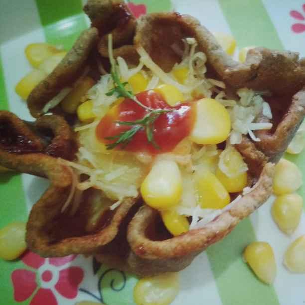 Photo of Bajra roti me pizza by anita uttam patel at BetterButter