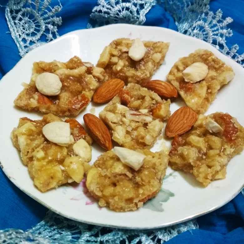 Photo of Dry fruit chikki by anita uttam patel at BetterButter