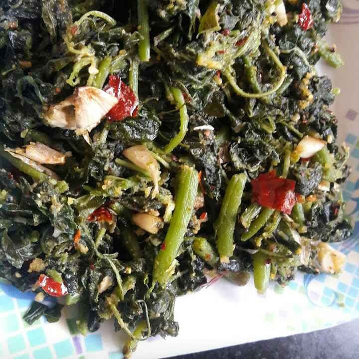 Photo of Amaranthus leaves stir fry  by Anitha Rani at BetterButter