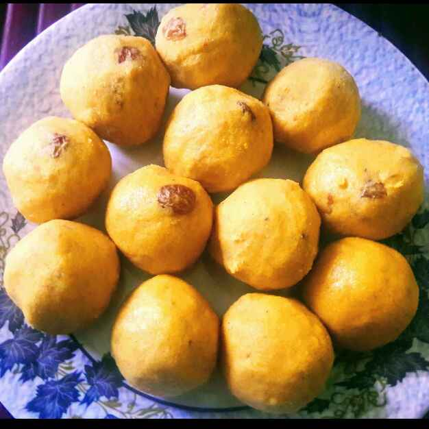 Photo of Besan laddu by Anitha Rani at BetterButter
