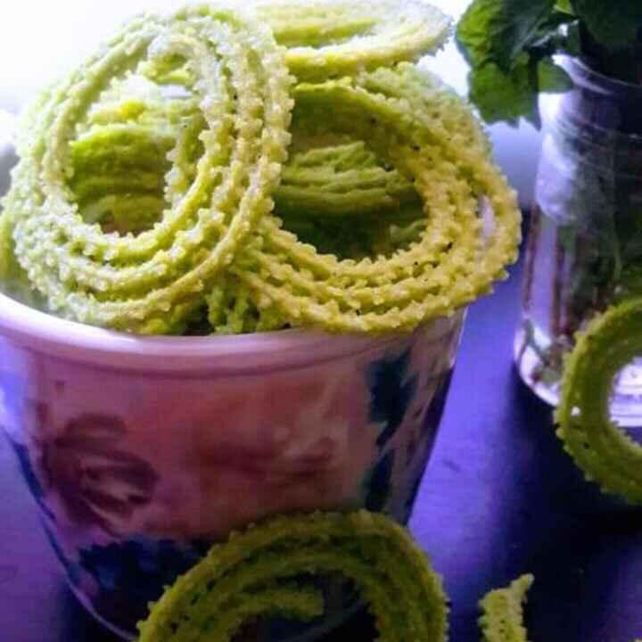 Photo of Mint chakli by Anitha Rani at BetterButter