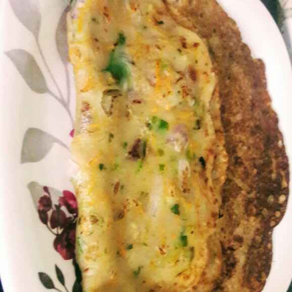 Photo of Veg jowar omlet  by Anitha Rani at BetterButter