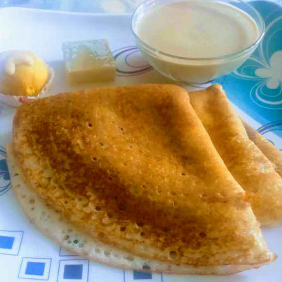 Photo of little millet wheat dosa by Anitha Rani at BetterButter