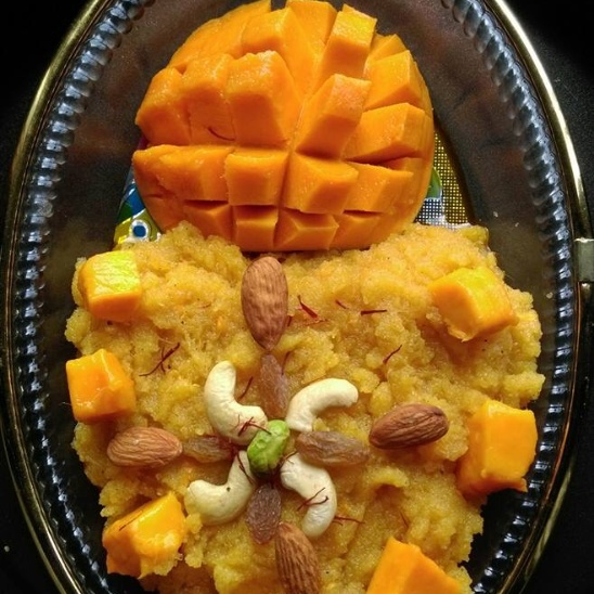 Photo of Mango Halwa (Sheera) by Anjali Deo at BetterButter