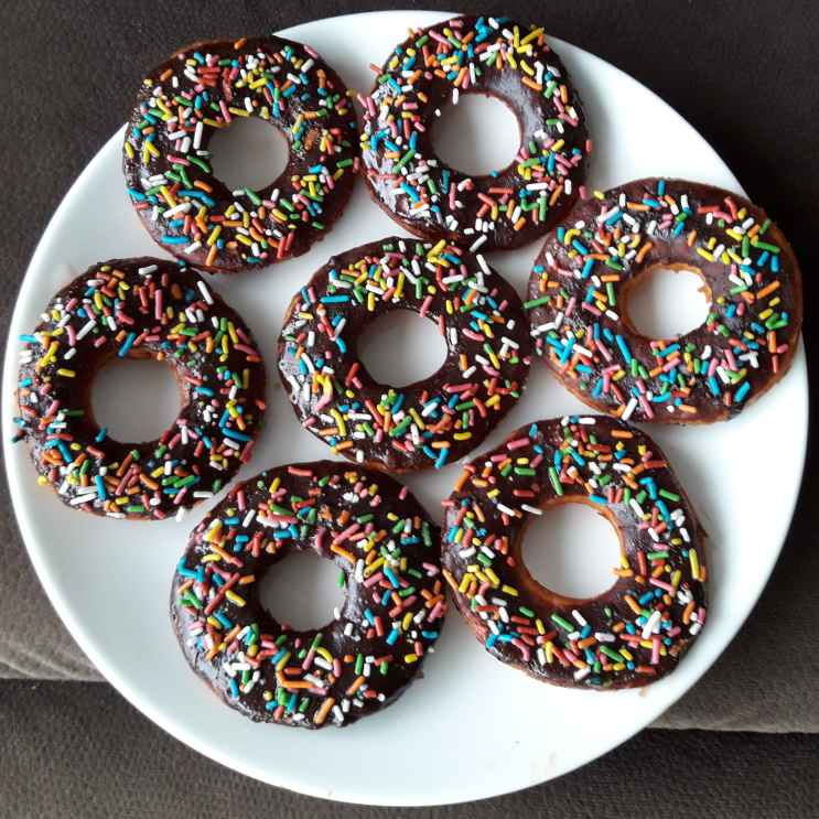 Photo of Eggless Chocolate Donuts by Anjali Deo at BetterButter