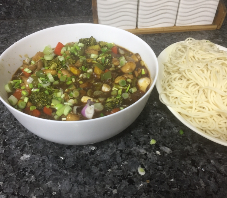 Photo of pan fried noodles by Anjali Gakhar at BetterButter