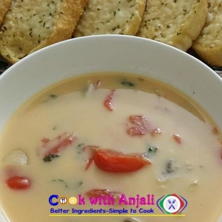 How to make Tom kha (chicken /shrimp coconut soup)