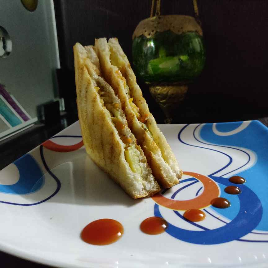 Photo of Vegetable Grill Sandwich by Anjali Kataria at BetterButter