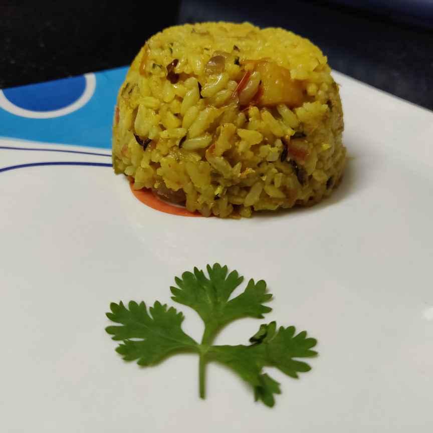 How to make મસાલા રાઈસ
