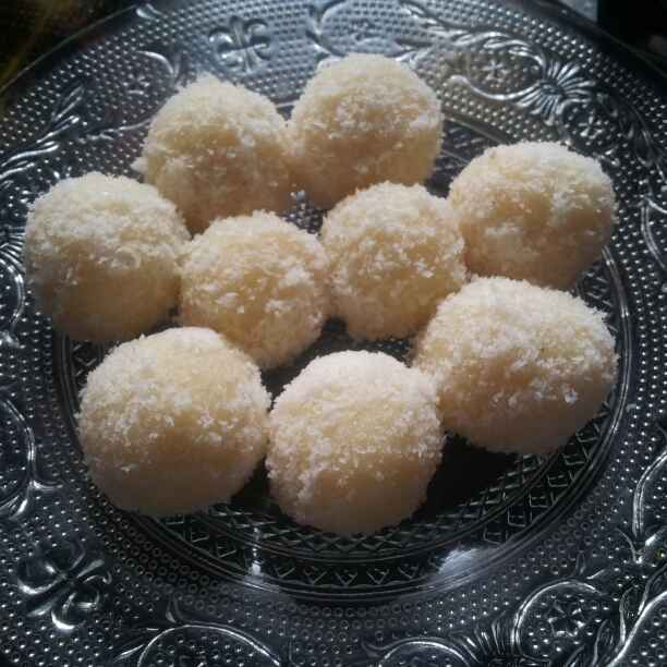 Photo of Coconut ladoo by Anjali  at BetterButter