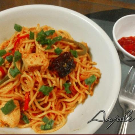 Photo of Chicken Schezwan Noodles by Anjali Purandare at BetterButter