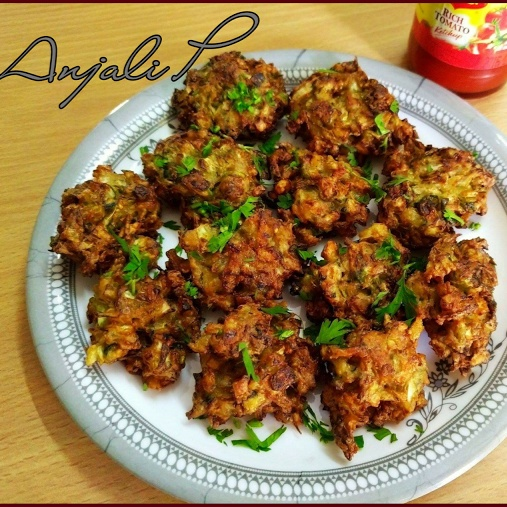 How to make Cabbage Pakoda (Fritters)
