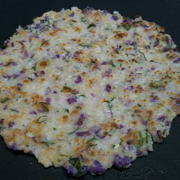 Photo of Purple Cabbage Uttapam  by Anjali Suresh at BetterButter