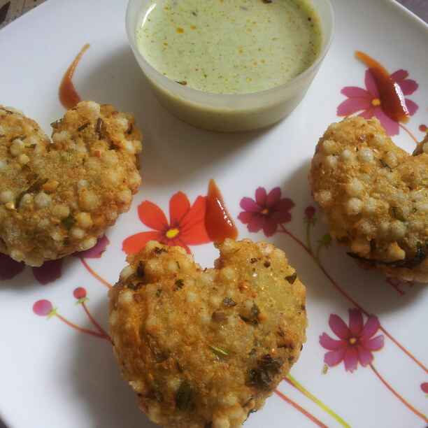 How to make Sabudana Vada !!