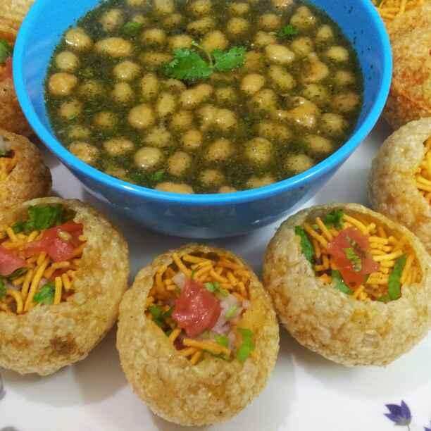 Photo of Pani Puri ! by Anjali Suresh at BetterButter