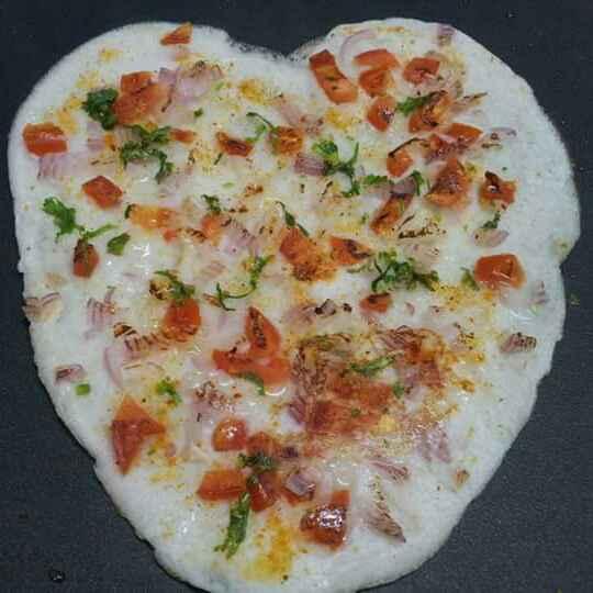 Photo of Tomato & Onion Uttapam! by Anjali Suresh at BetterButter