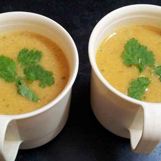 How to make Healthy Veg & Oats soup !