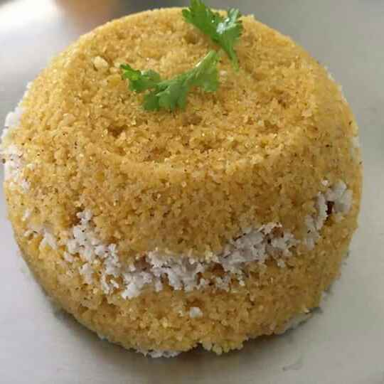 How to make Corn puttu