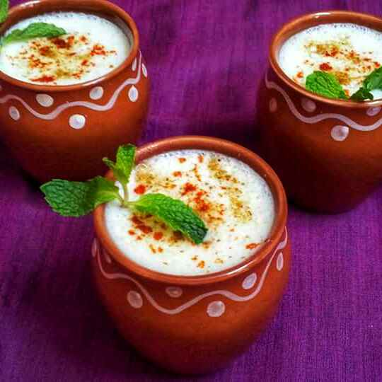 Photo of Cucumber Mint salted lassi !! by Anjali Suresh at BetterButter