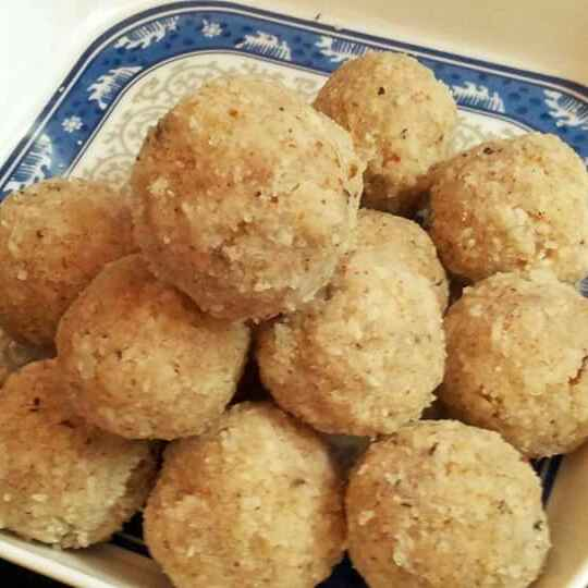 Photo of Coconut and Almond ladoos by Anjali Suresh at BetterButter