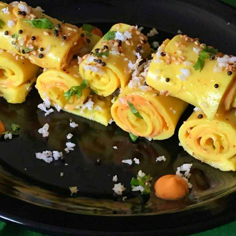 Photo of Khandvi rolls with Mexican twist !! by Anjali Suresh at BetterButter