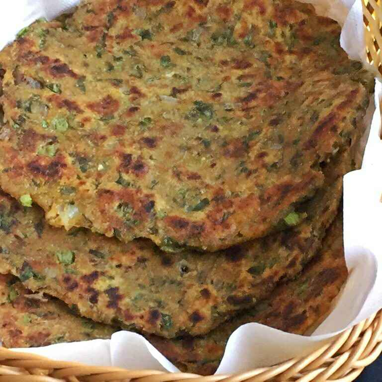 Photo of Spinach and Potato paratha by Anjali Suresh at BetterButter