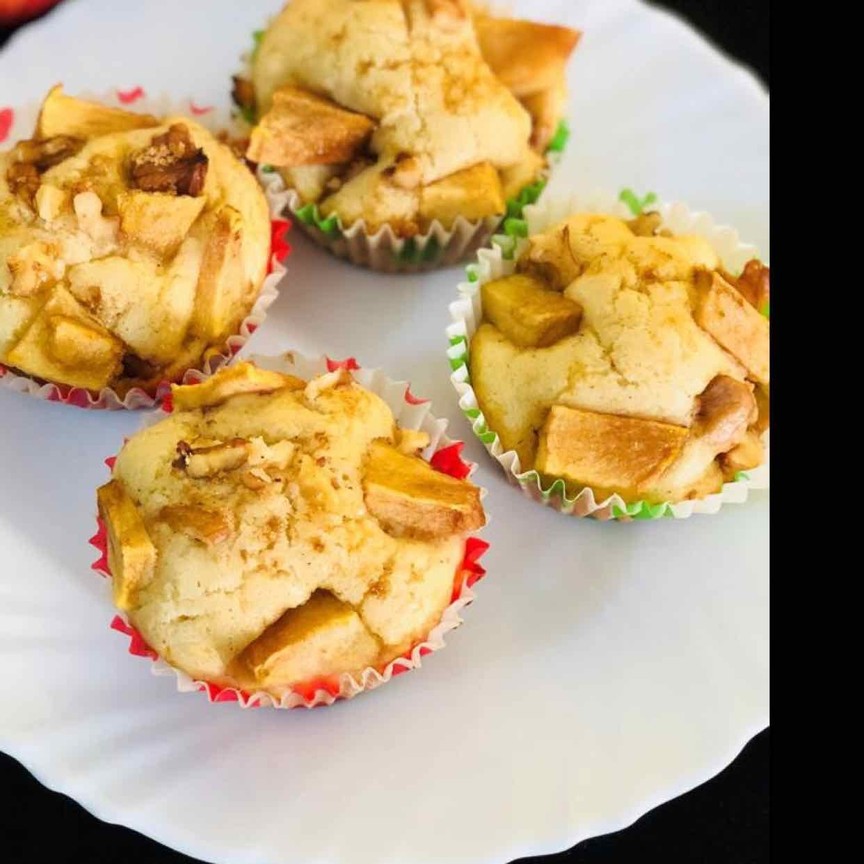 Photo of Eggless Apple Cinnamon Cupcakes by Anjali Valecha at BetterButter