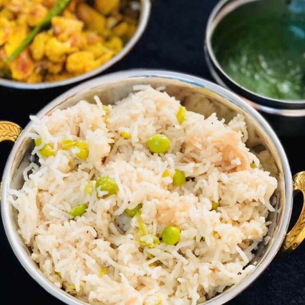 Photo of Caramelised onions and peas rice by Anjali Valecha at BetterButter