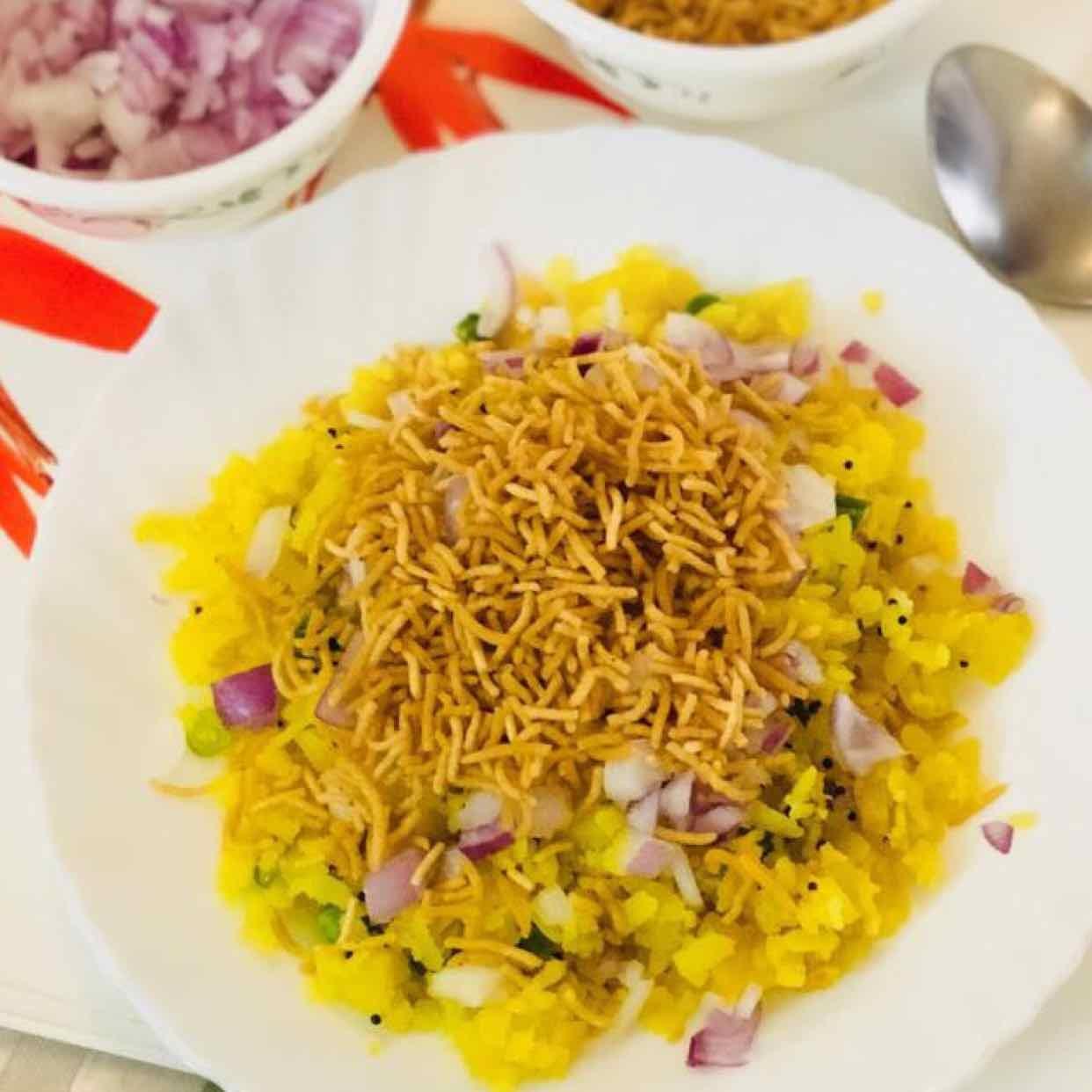 Photo of kanda poha by Anjali Valecha at BetterButter