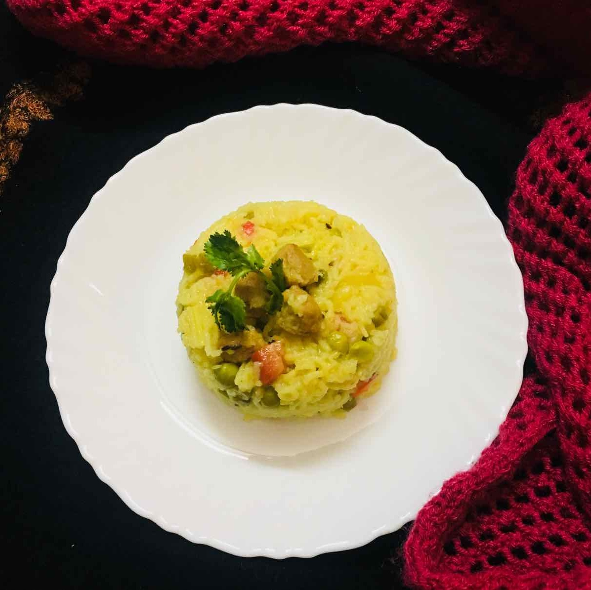 Photo of vegetable pulao by Anjali Valecha at BetterButter