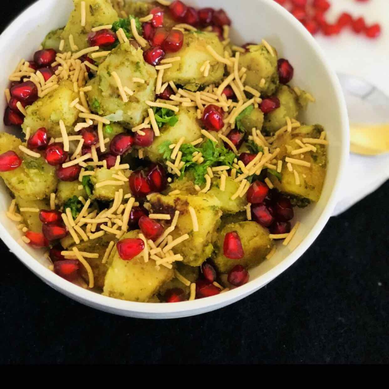 How to make sweet potato chaat