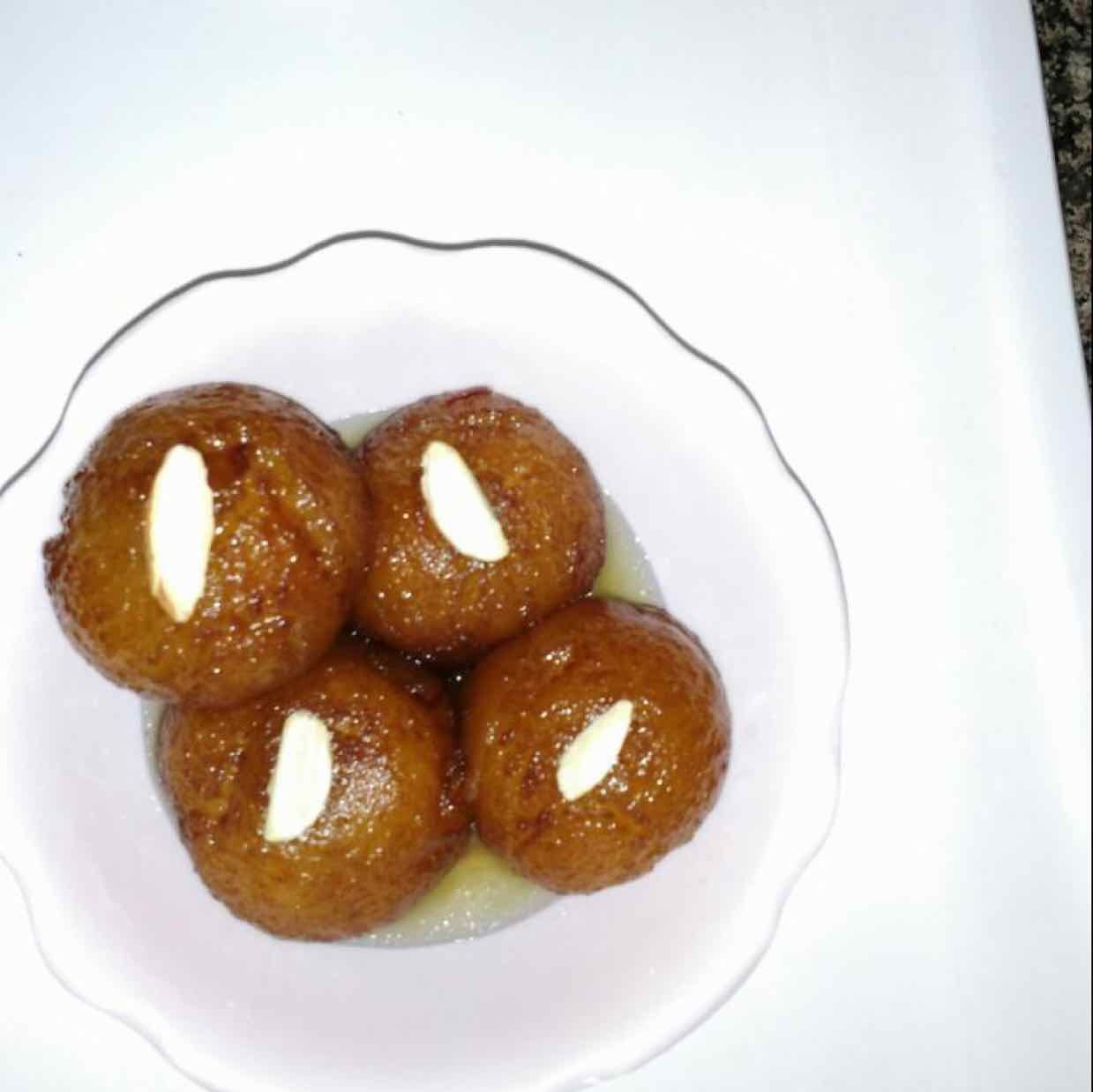 How to make bread gulabjamun