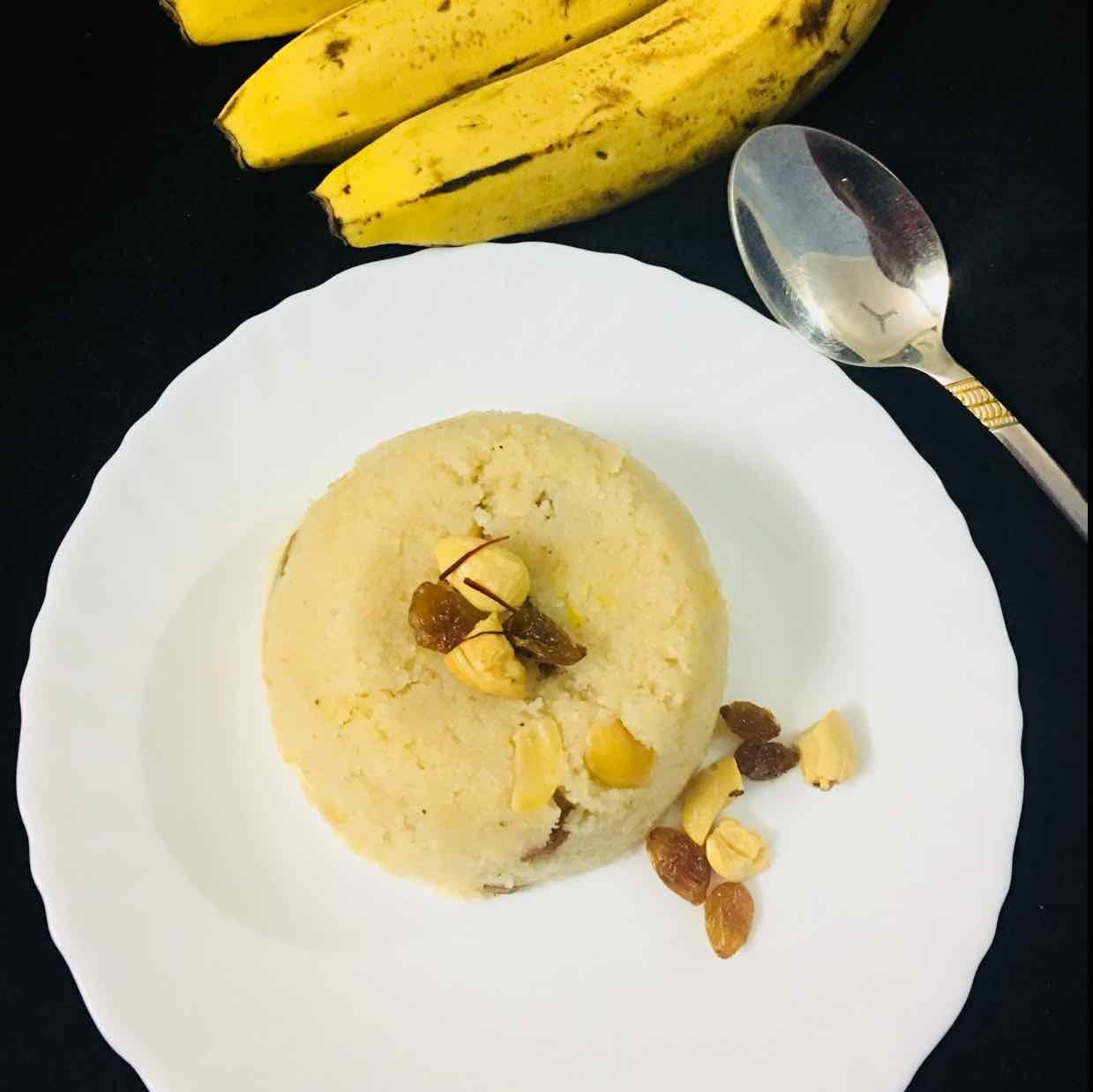 Photo of banana sheera by Anjali Valecha at BetterButter