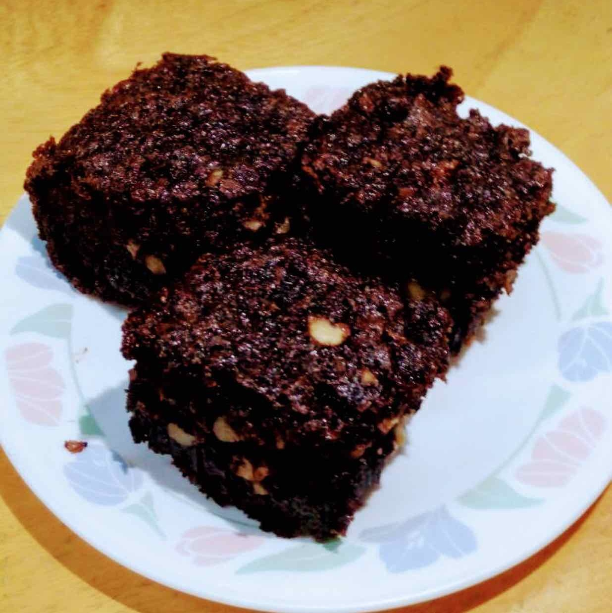 Photo of eggless brownies by Anjali Valecha at BetterButter