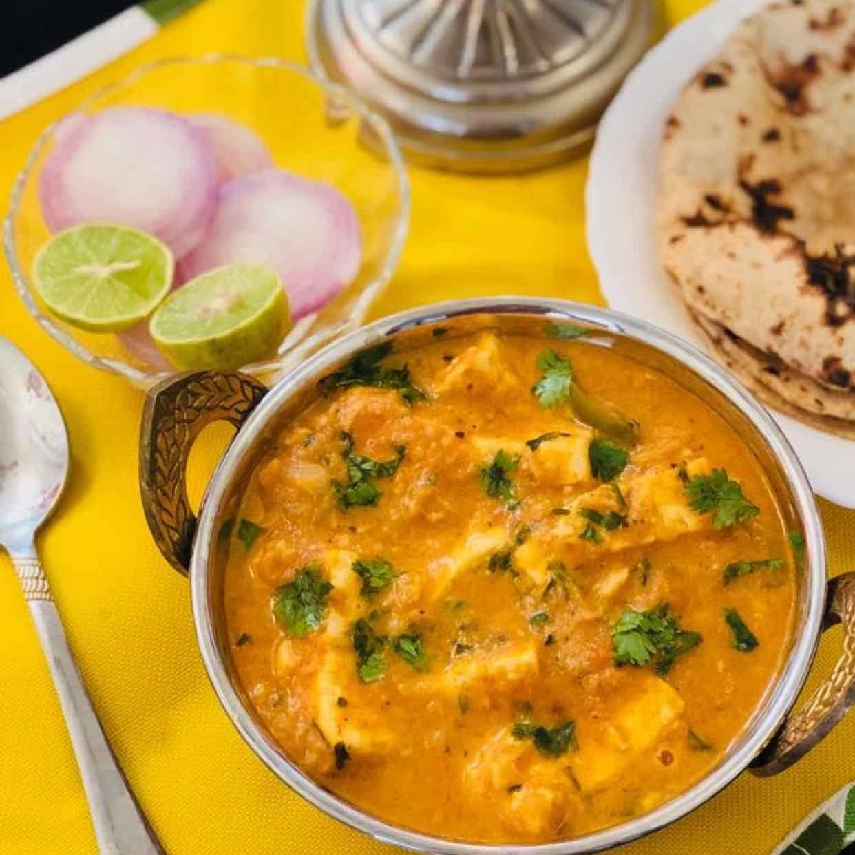 How to make gravy kadhai paneer