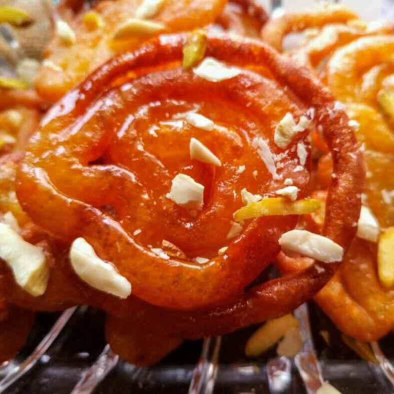 How to make Leftover rice jalebi
