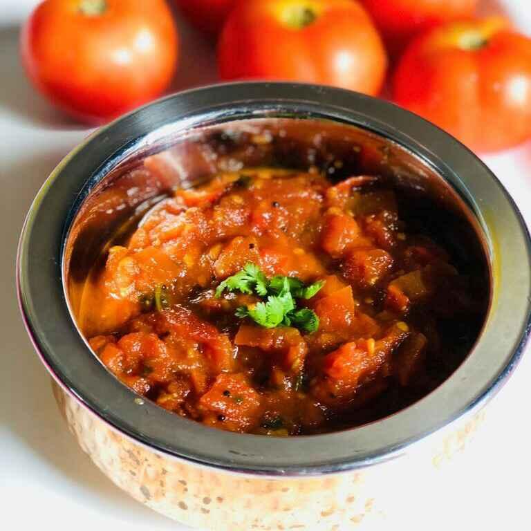 Photo of Tamatar ki chutney by Anjali Valecha at BetterButter
