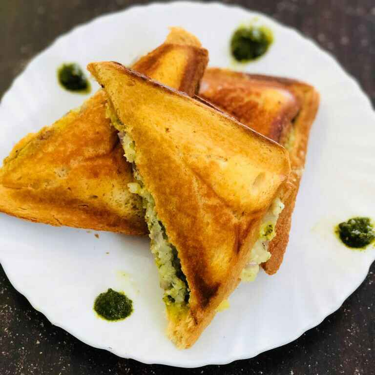 How to make Chutney sandwich