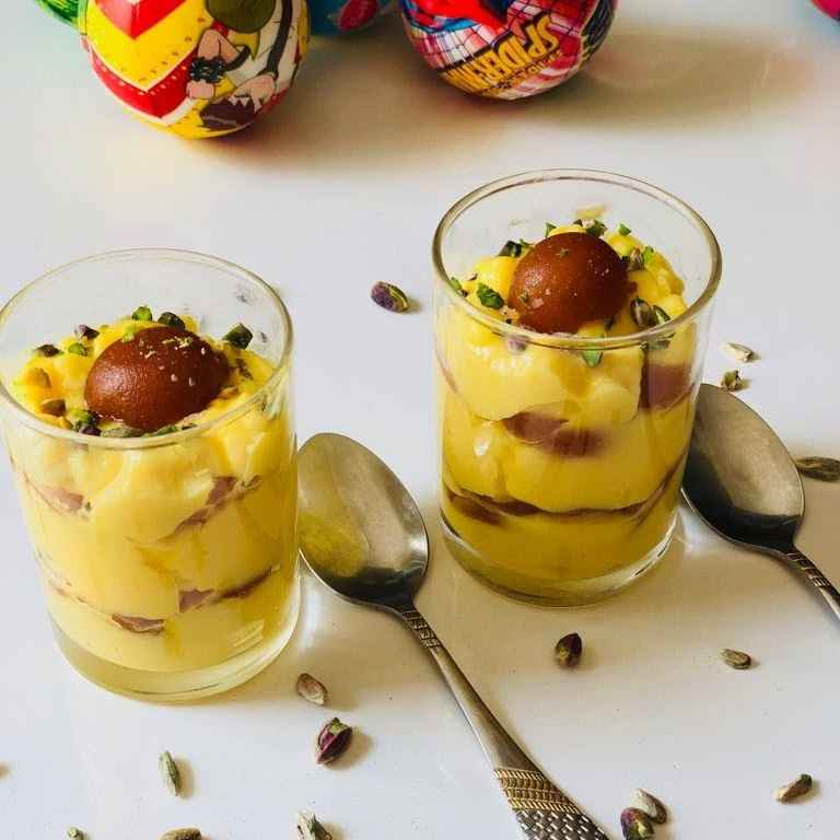 Photo of Gulabjamun trifle by Anjali Valecha at BetterButter