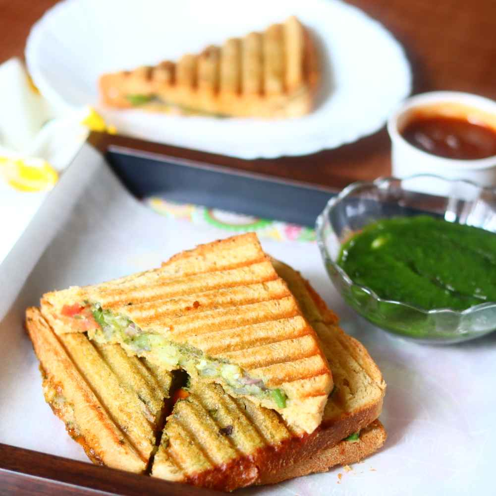 How to make Bombay masala sandwich