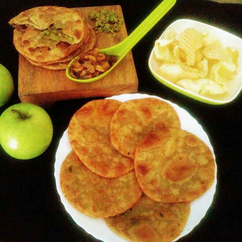 Photo of Green peas poori by Anjali Valecha at BetterButter