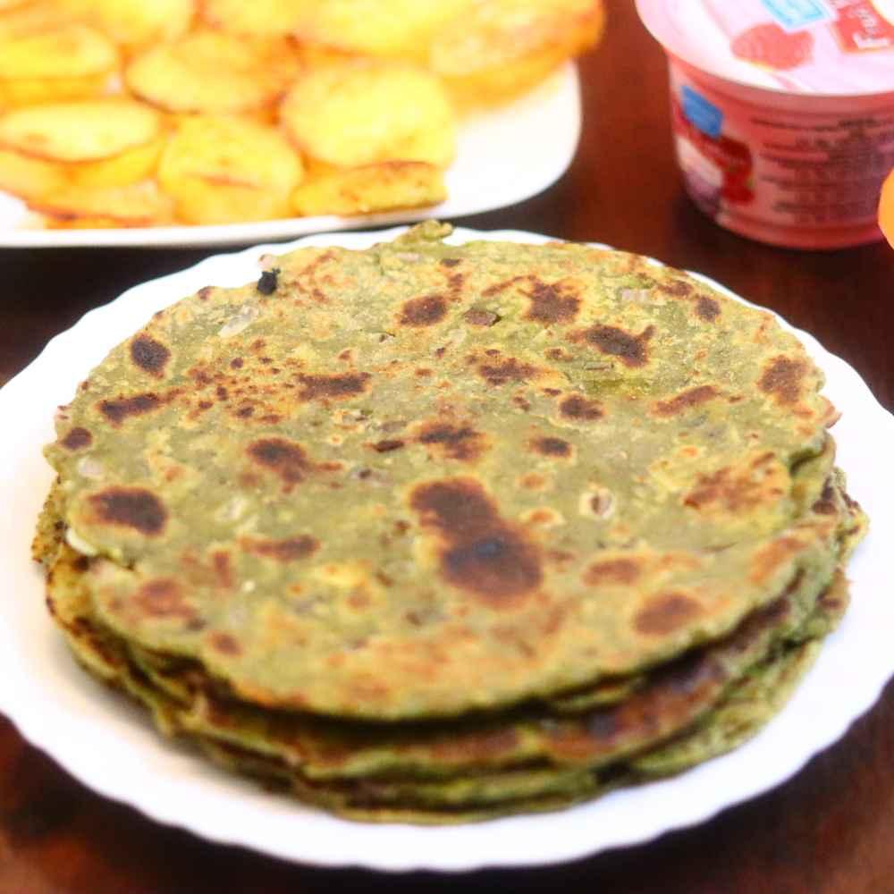 Photo of Palak paranthas by Anjali Valecha at BetterButter