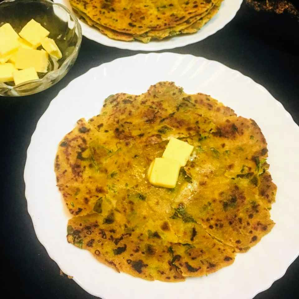 Photo of Besan methi parantha by Anjali Valecha at BetterButter